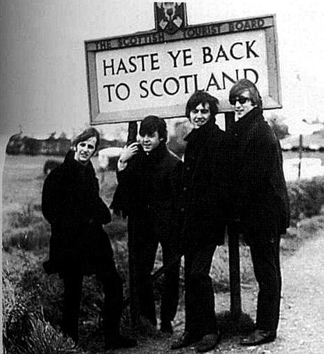 Image result for beatles scotland