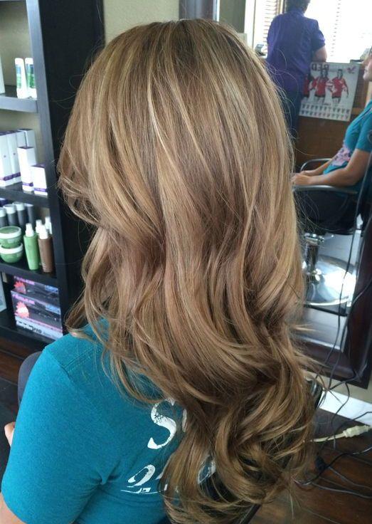Dark Blonde Balayage Hairstyles Ideas for Long Hair 2018