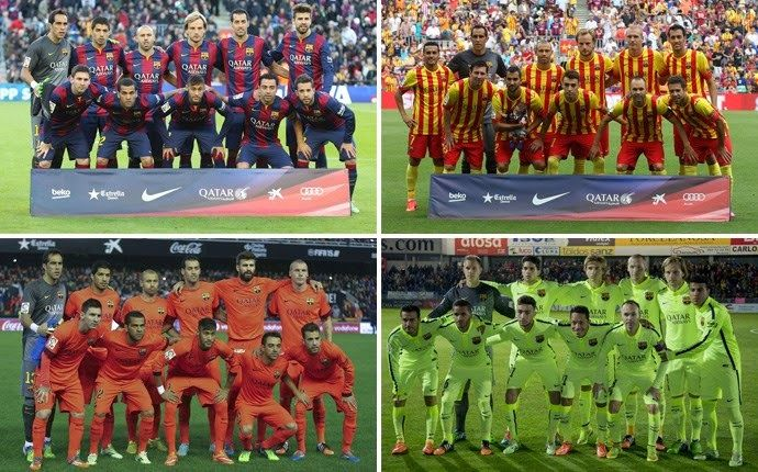 Barcelona Stars : 22 different lineup for Barcelona this season with...