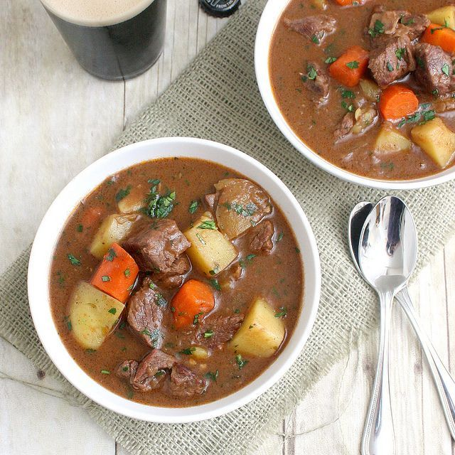 Guiness beef stew