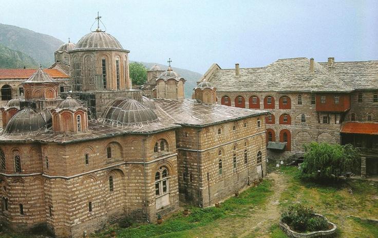 Mount Athos: 8. Xiropotamou monastery