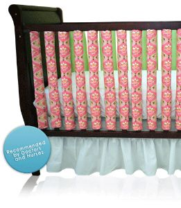 Wonder Bumpers - Breathable Crib Bumper, Baby Bedding That Prevents SIDS, &