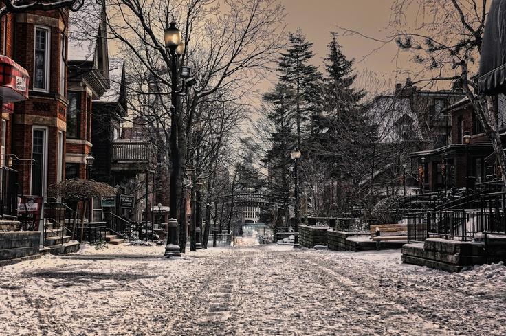 Hess Village, Hamilton, Ontario