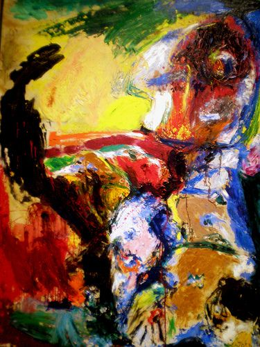 Asger Jorn (1914-1973) was a Danish painter, sculptor, ceramic artist, and author. He was a founding member of the avant-garde movement COBRA and the Situationist International.