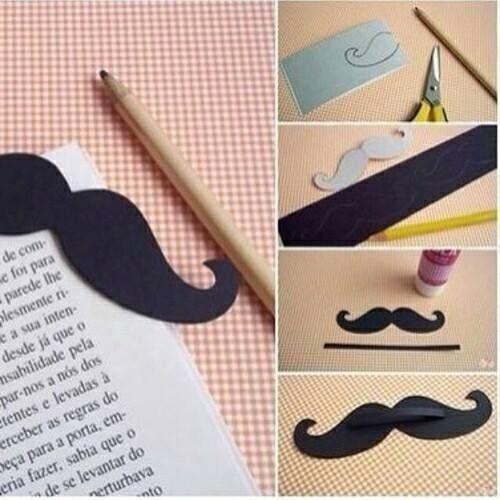 semn de carte mustata