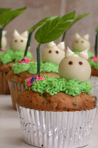 Chibi Totoro- not sure what it is but it looks cute