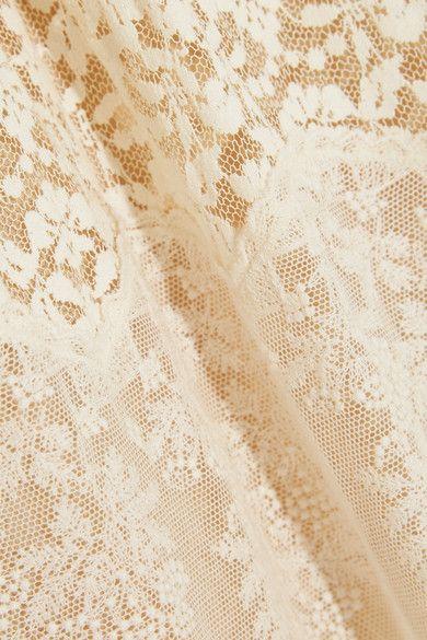 Stella McCartney - Erika Tiered Cotton-blend Lace Maxi Dress - Cream - IT44