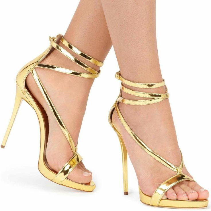 Attractive young girls high heels short stock photo