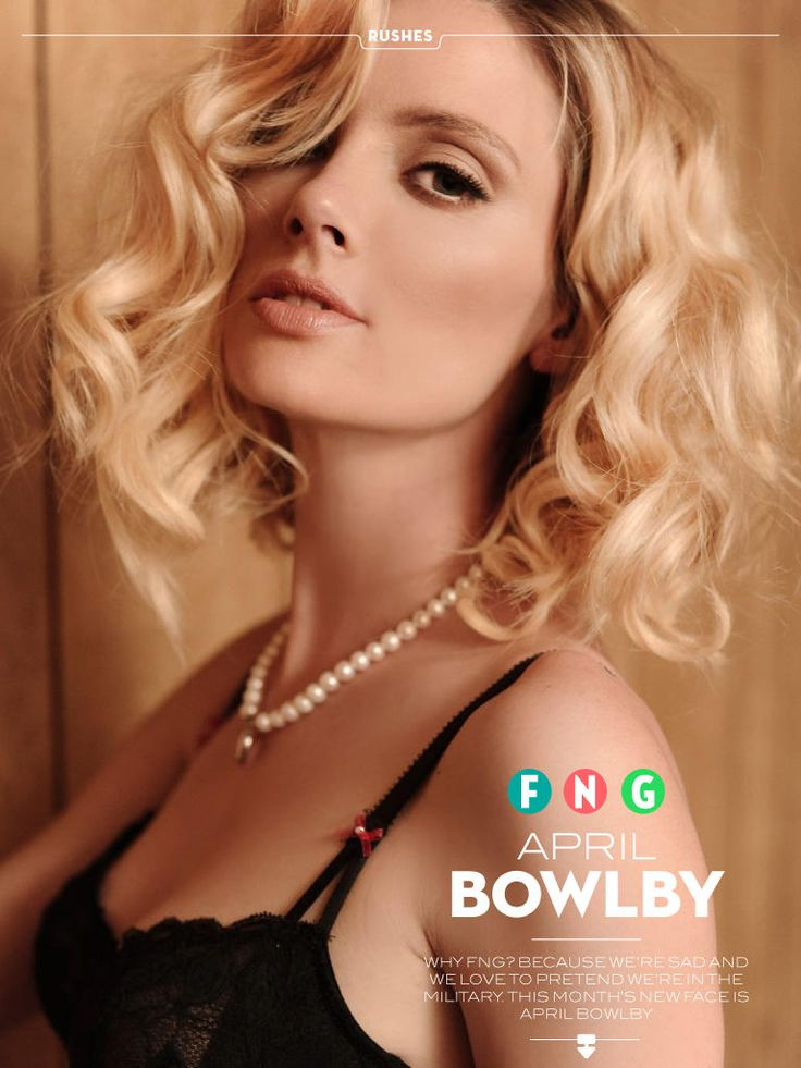April Bowlby