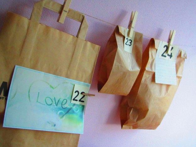 Paper Bag Advent Calendar VAN BRITT