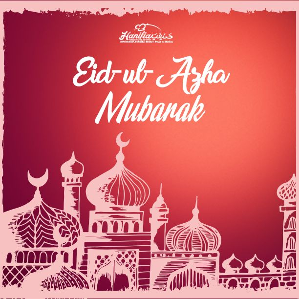 May Allah keep your platter filled with exquisite dishes of dreams and desires and fulfillment of all your wishes. Eid-ul-Azha Mubarak!