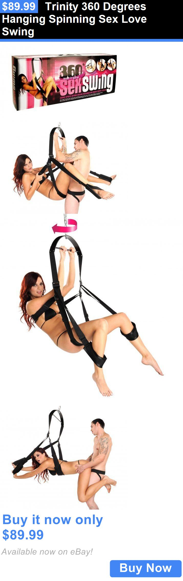 Other Sexual Wellness: Trinity 360 Degrees Hanging Spinning Sex Love Swing BUY IT NOW ONLY: $89.99