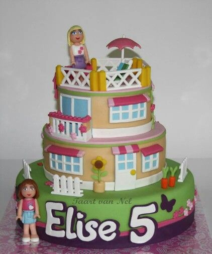 Lego Friends Cake 8 Quot Square