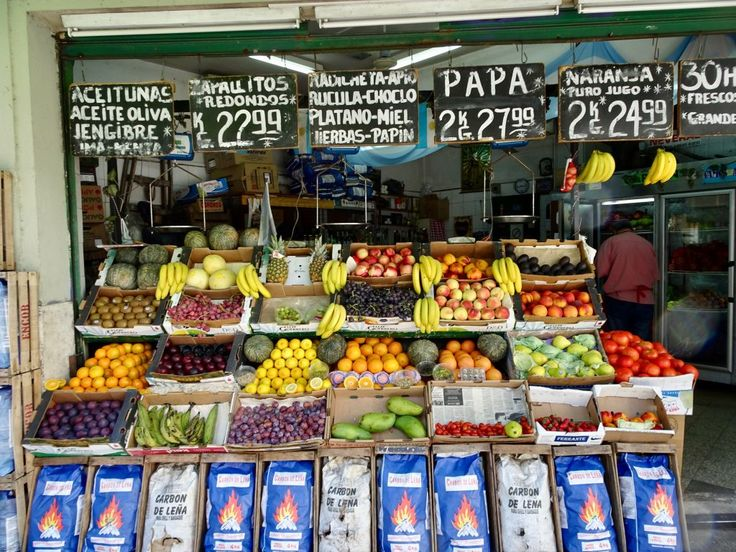 Fruit market in Buenos Aires