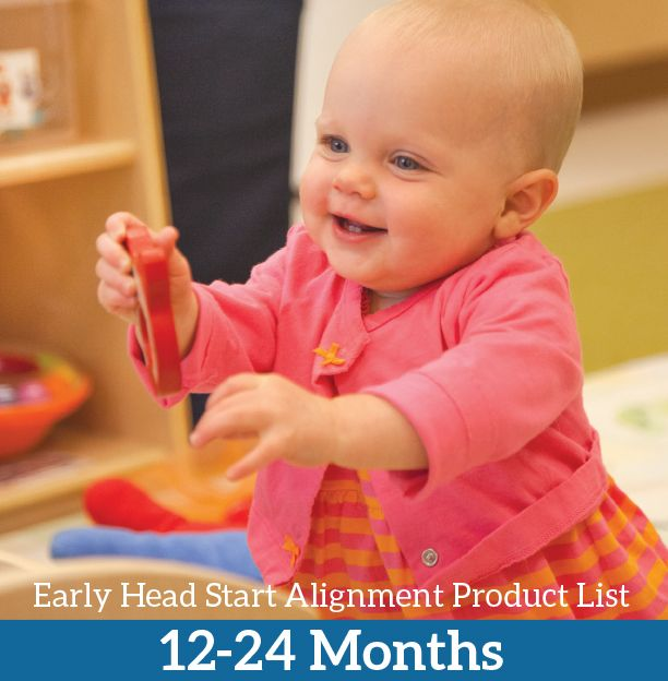 Recommended Early Head Start Product for ages 12-24 months
