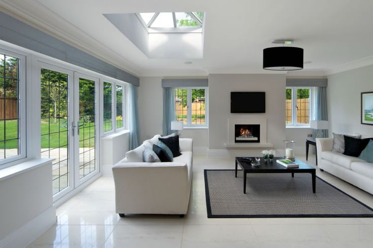 Our orangeries are often extensions to kitchens and really ...