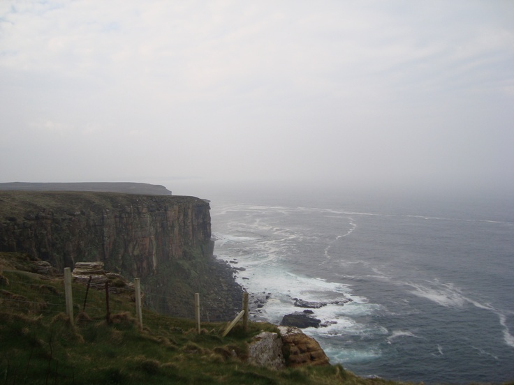 Dunnet Head - the most northerly point on the British mainland
