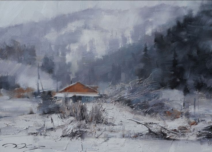 Зима 2014. Денис Октябрь