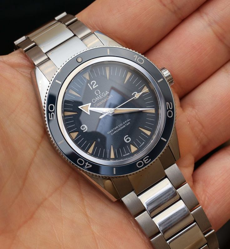 Omega Seamaster 300 Master Co-Axial Watch Hands-On Hands-On
