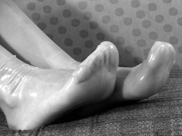 latex feet