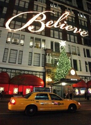 Macy's in NYC at Christmas - another one on my must-see list.  I am a believer that it's okay to be a kid at heart sometimes, and seeing Santa was on my list.  I did, and he was so lovely.  It's fun to be a kid again, even if just for a minute.