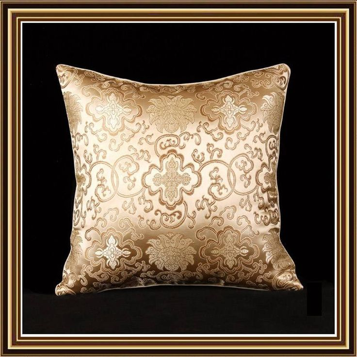 Nice new Throw pillow cushion cover beige figure decorative pillow case C18-4 #chinesesilk