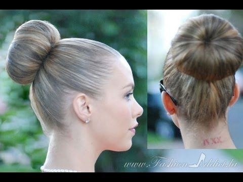 PERFECT SOCK BUN. Best Method For Layers too!! - YouTube
