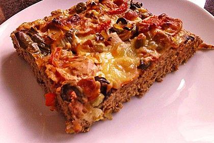 Hackfleischpizza ohne Teig (Rezept mit Bild) von sissimuc | Chefkoch.de