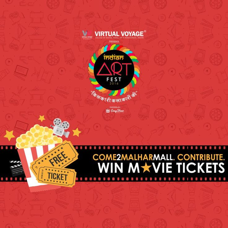 Just give us your 'Time' and win 'Movie Tickets'! Whatsapp us on 91- 8462007200 #IAFindore
