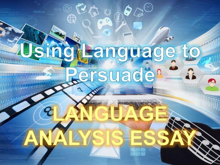 using language to persuade essay structure