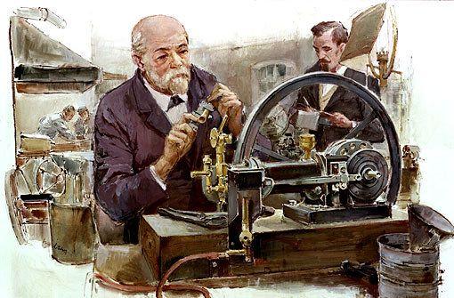 Gottlieb Daimler and Wilhelm Maybach