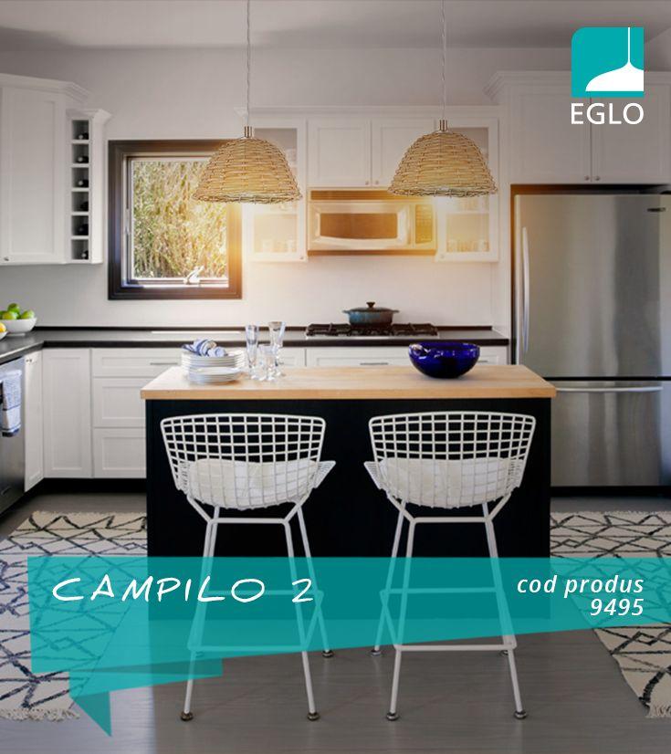 Potrivit pentru iluminarea bucătăriilor. EGLO personalizează.