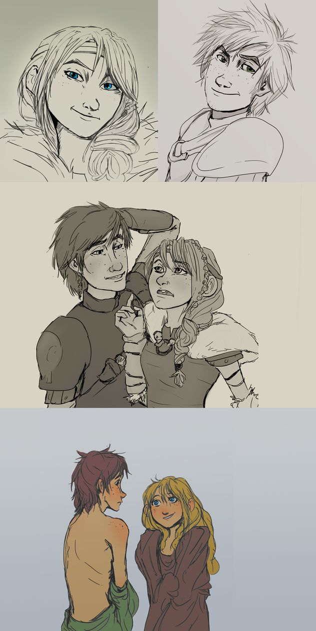 how to train your dragon fanfiction female hiccup lemon