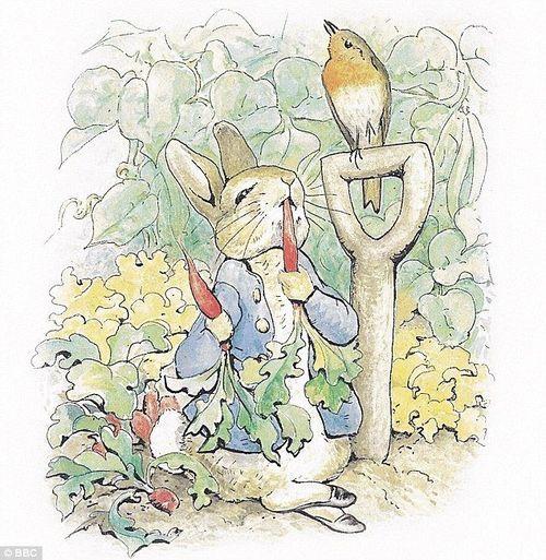 beatrix potter's peter rabbit, one of my favourite bunnies