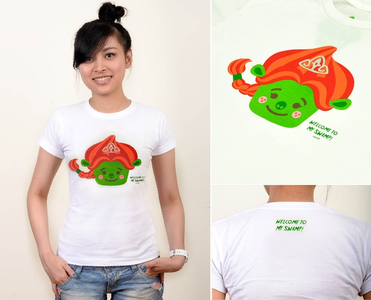 Fiona | @ IDR 80.000*  Special Price valid until 31st Aug, 2012    Sex : Female    Material : Cotton Combad 30s    Availabe size : S, M, L    Sizing | FEMALE  - XS : chest 35cm ; waist 37cm ; length 63 cm  - S : chest 37cm ; waist 41cm ; length 63 cm  - M : chest 43cm ; waist 45cm ; length 65 cm  - L : chest 45cm ; waist 47cm ; length 65 cm    Order : SMS +6287853724499  email : pickme@heymoochi.com    *exclude shipping cost