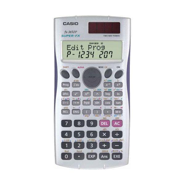 #Calculadora Cientifica Casio FX-3650P.  http://www.opirata.com/es/calculadora-cientifica-casio-fx3650p-p-34599.html