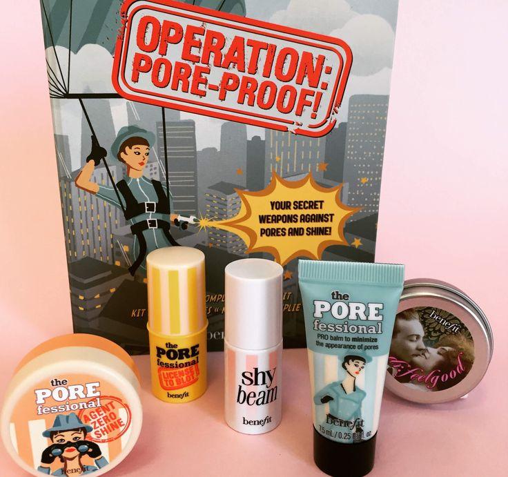 operation: pore proof! - kit teint parfait   Benefit Cosmetics