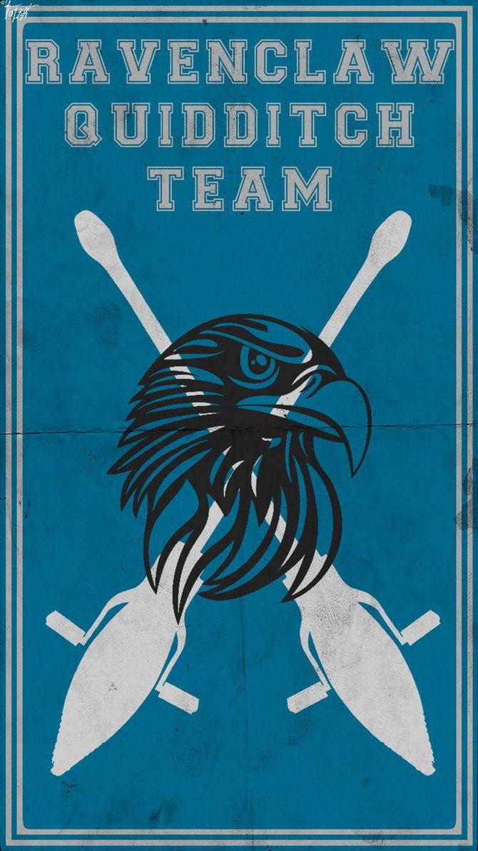 Quidditch Team Poster: Ravenclaw by TheLadyAvatar on DeviantArt