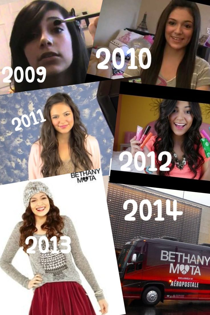 Bethany, you have come so far! Congrats on 5 years of making amazing videos and being such an inspiration for all of your Motavators. We all look up to you and are so proud of what you've achieved! We love you, Bethers! Love, Fiona xoxo (edit made by me)