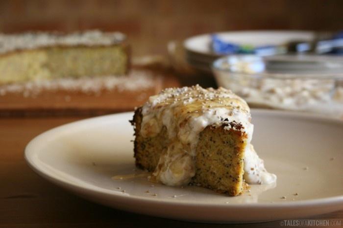 orange poppy seed almond cake