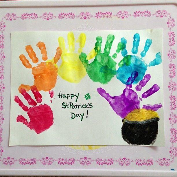 Toddler art- st.patricks day