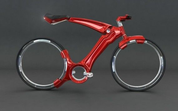 Hubless bicycle designs for a smooth and elegant ride