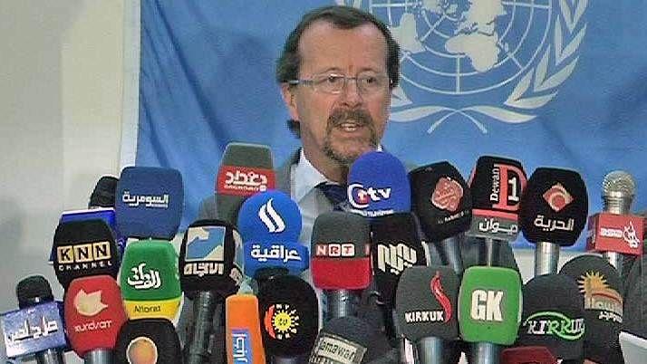 الأمم المتحدة: العراق أمام خيارين، أما الديمقراطية او مواجهة الخطر