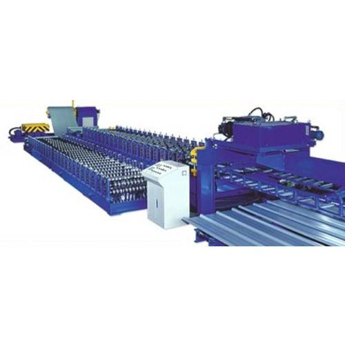 We take immense pride to introduce our company as one of the truthful manufacturers and exporters of Roof Tile Roll Forming Machine. A wide gamut of these machines is Producing by us by implementing world class quality. we are offering you to this Roof tile roll forming machine in as per your requirement. Our Roll Forming Machine is widely appreciated by the customer all around the world due to smooth and constantaly performance. Further, this Roof Tile Roll Forming Machine is Mostly used…
