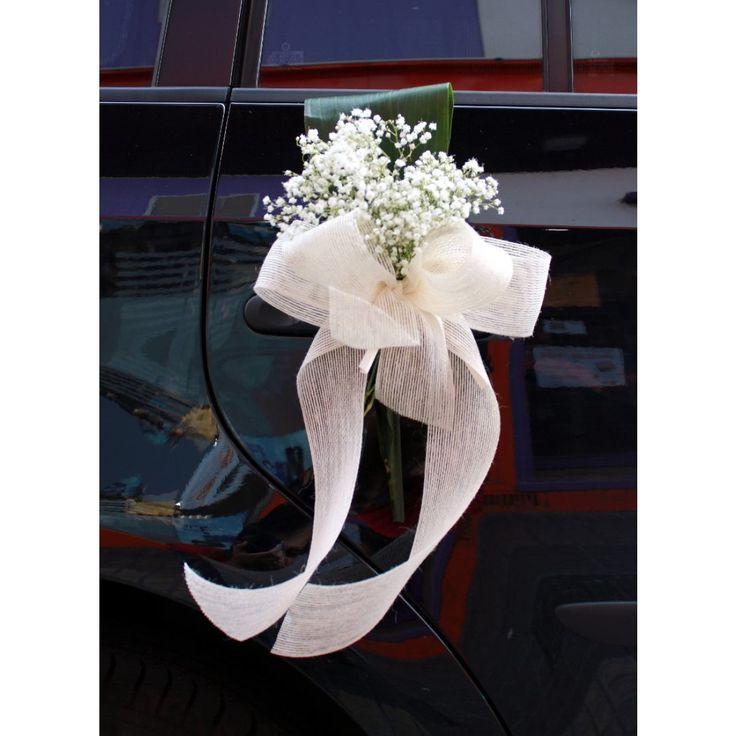 Varios tipos de decoraciones de coches de boda en Zaragoza