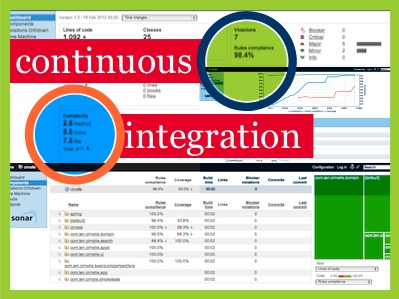 Continuous integration screen