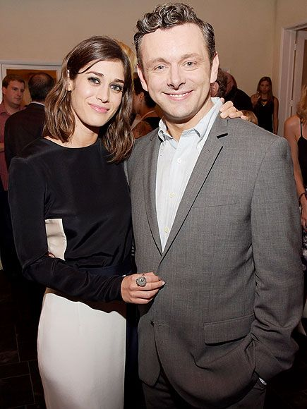 Star Tracks: Thursday, July 17, 2014 | MASTERS & SHAKERS | Lizzy Caplan and her Masters of Sex co-star Michael Sheen buddy up at Showtime's press event at Sony Pictures Studios on Wednesday in Culver City, California.