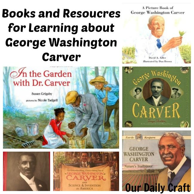 Learn -- and teach your kids -- about George Washington Carver, including a brief biography, a reading list for kids and some fun peanut-related activities.