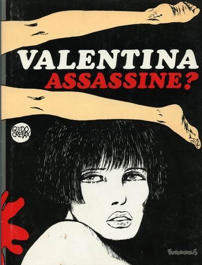 'Valentina Assassine', by Guido Crepax