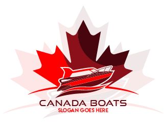 logo canada boats Logo design - this logo for boat company or community Price $90.00